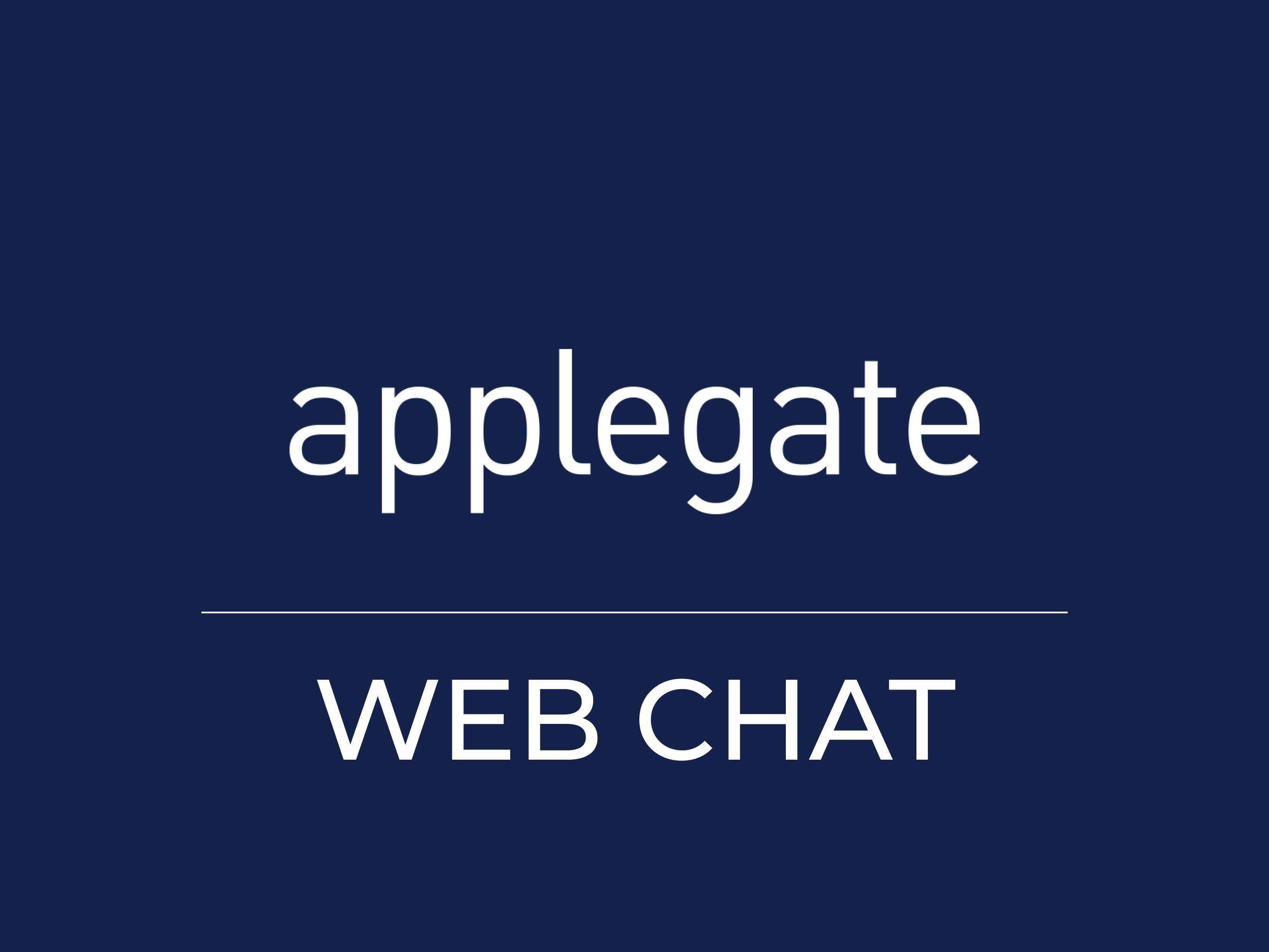 Applegate Web Chat