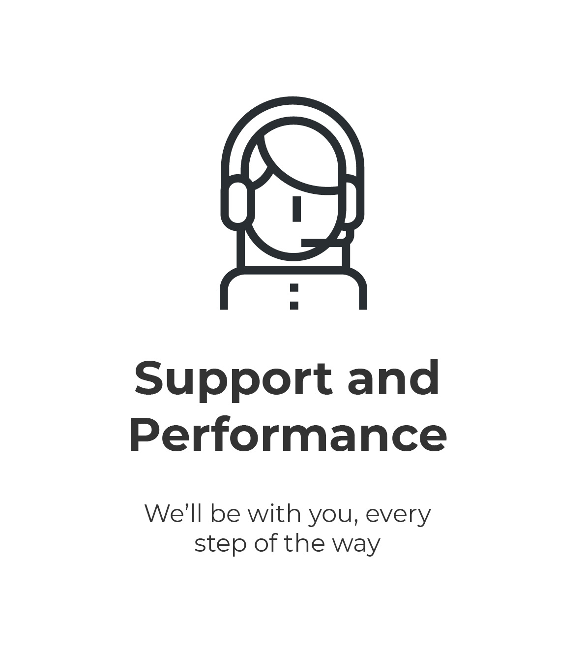 Support and Performance